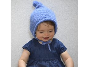 Čepicekapuce...modrá