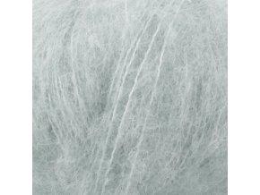 Brushed alpaca 14 světlá šedozelená