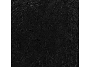 Brushed alpaca 16 černá