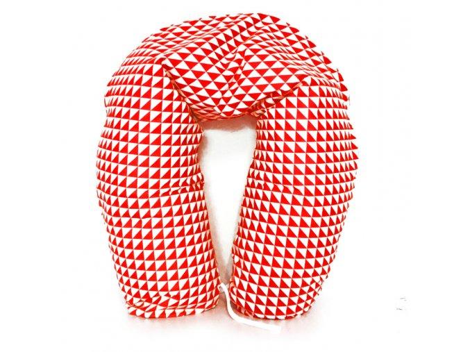 GADEO Kojící a relaxační polštář VINTAGE RED