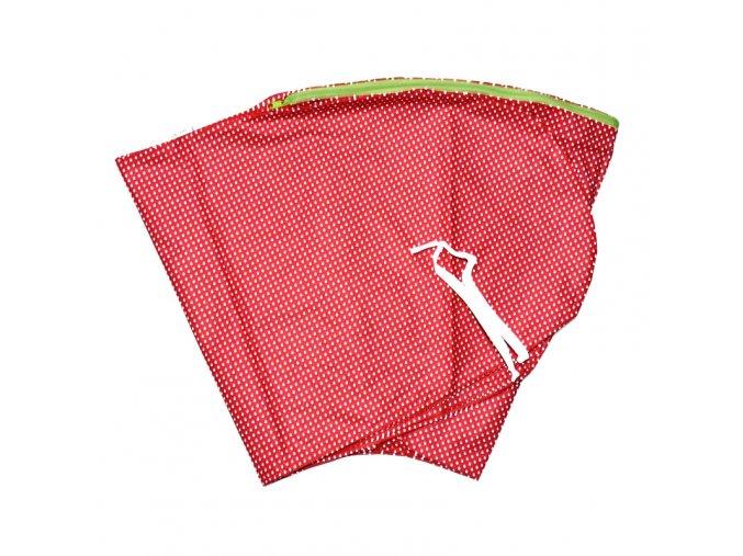 GADEO náhradní povlak ke kojícímu polštáři LITTLE DOTS RED