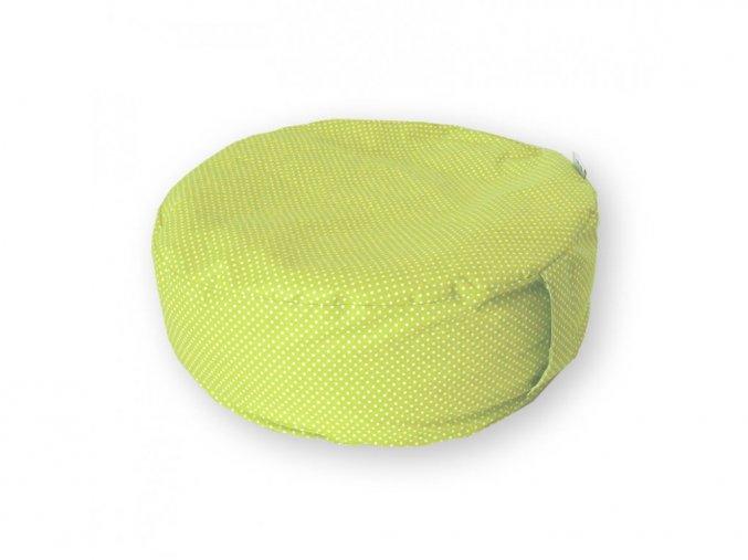 GADEO meditační sedák LITTLE DOTS lime