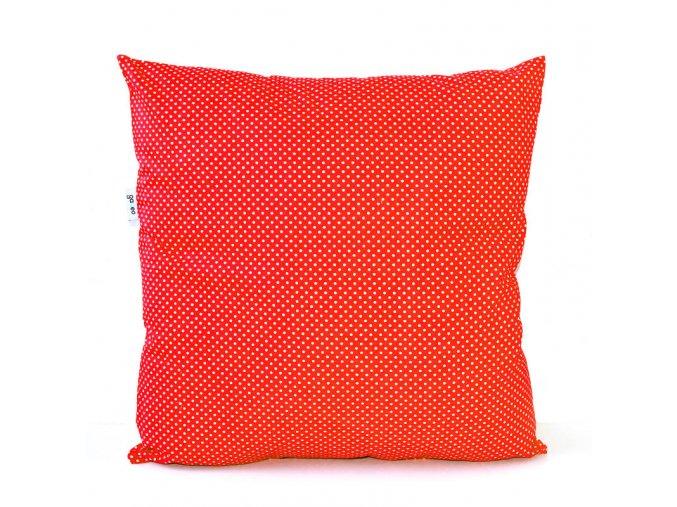 GADEO dekorační povlak na polštář LITTLE DOTS RED