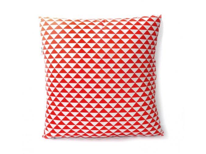GADEO dekorační povlak na polštář VINTAGE RED