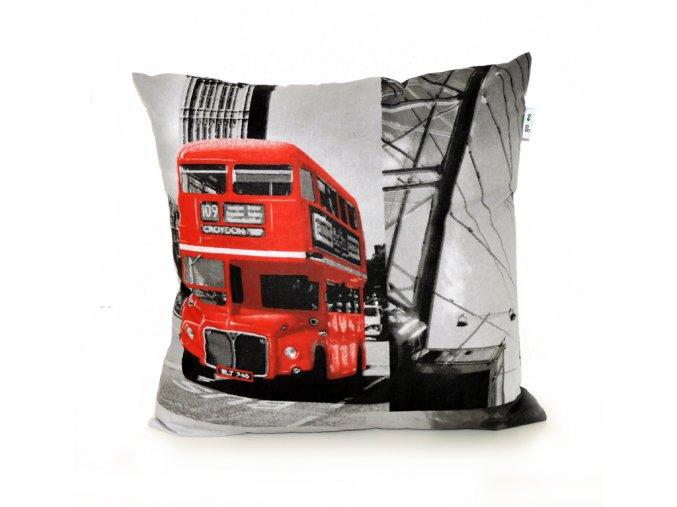 GADEO dekorační povlak na polštář LONDON