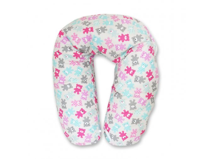 GADEO Kojící a relaxační polštář TOBIAS pink