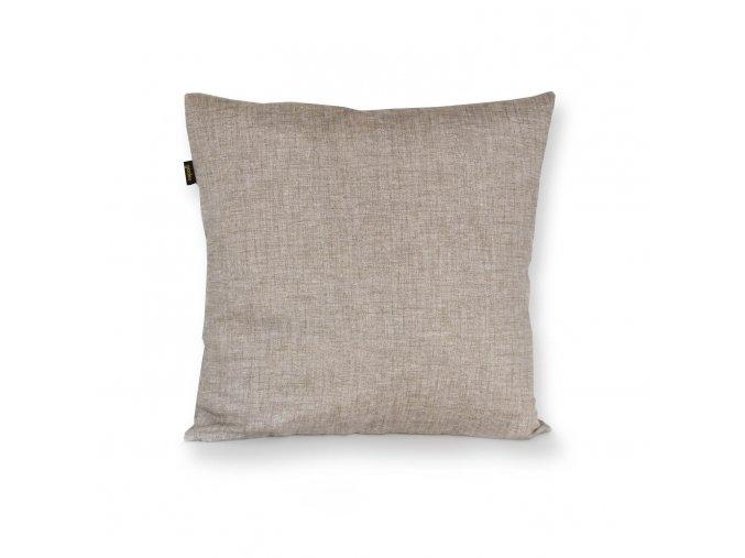 GADEO dekorační povlak na polštář UNI béžovo-šedá