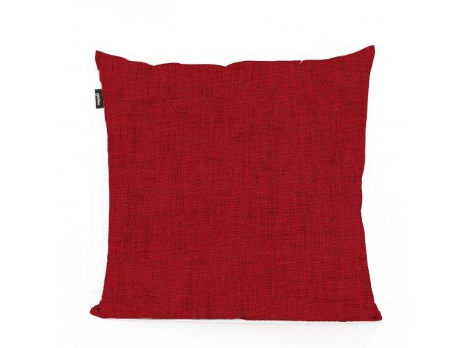 GADEO dekorační povlak na polštář UNI červená