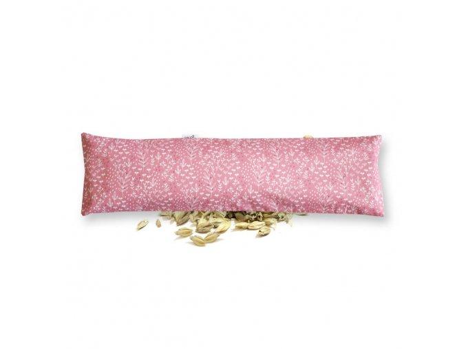 GADEO Špaldový bederní polštářek BYLINKY růžové
