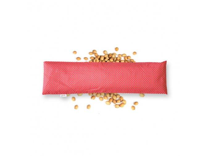 GADEO třešňový bederní polštářek LITTLE DOTS RED