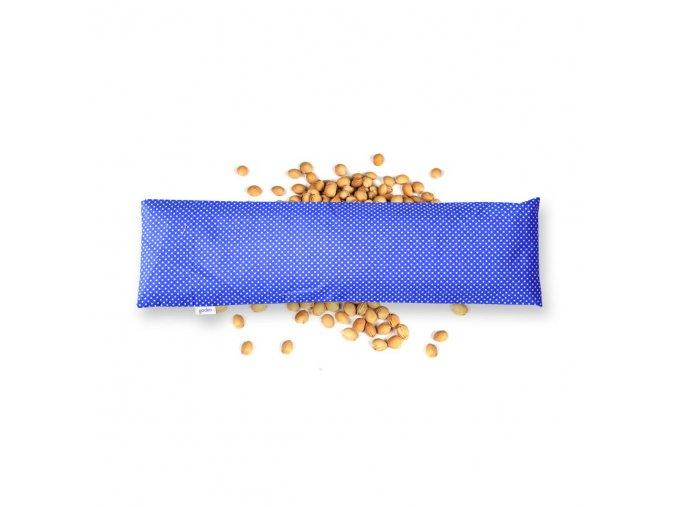 GADEO třešňový bederní polštářek LITTLE DOTS BLUE