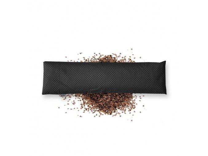 GADEO Pohankový bederní polštářek LITTLE DOTS BLACK