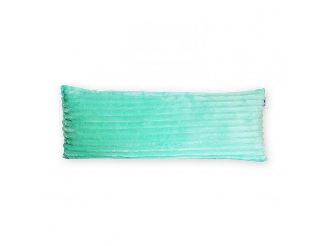 GADEO dekorační polštář MINKY STRIPES mentolová