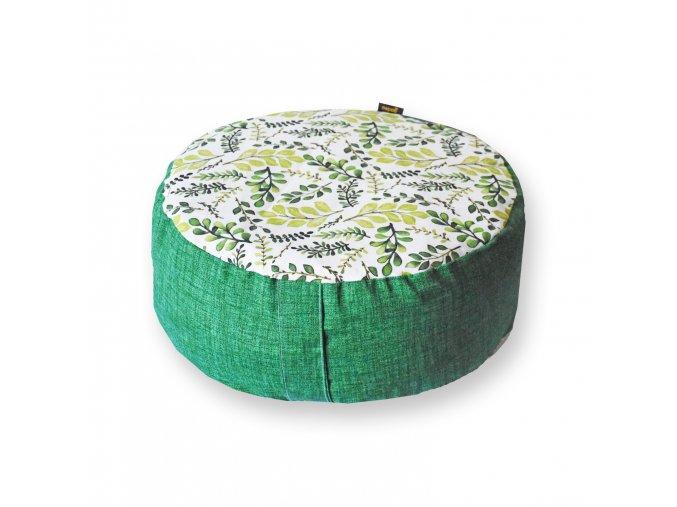 GADEO meditační sedák VĚTVIČKY zelené