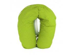 GADEO Kojící a relaxační polštář LITTLE DOTS LIME