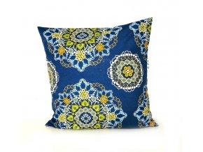 GADEO dekorační povlak na polštář BLUE MANDALA