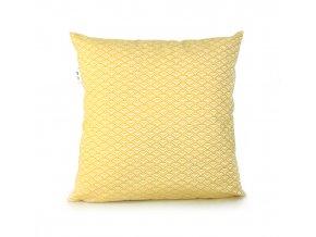 GADEO dekorační povlak na polštář WAVES yellow