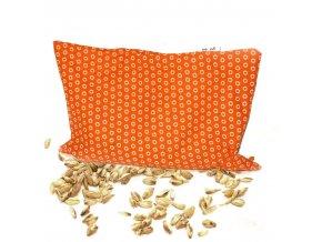GADEO Špaldový polštářek ZOO orange