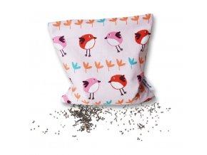 GADEO Řepkový polštářek LITTLE BIRD PINK