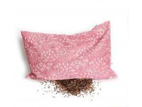 GADEO Pohankový polštářek BYLINKY růžové  nahřívací