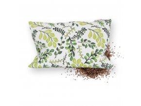 GADEO Pohankový polštářek VĚTVIČKY zelené