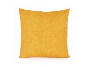 GADEO dekorační povlak na polštář UNI žlutá