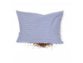 GADEO Pohankový polštářek BLUE, proužky