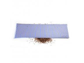 GADEO Pohankový bederní polštářek BLUE proužky