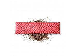 GADEO Pohankový bederní polštářek LITTLE DOTS RED