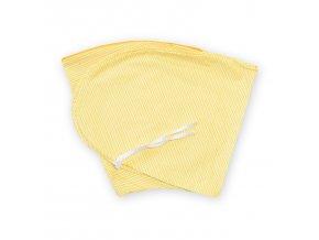 GADEO náhradní povlak ke kojícímu polštáři CIK-CAK žlutý