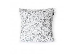 GADEO dekorační povlak na polštář VĚTVIČKY šedé