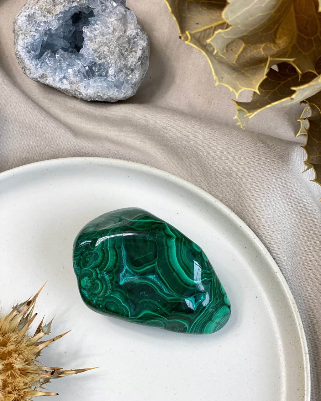 Minerál chrysokol s malachitem