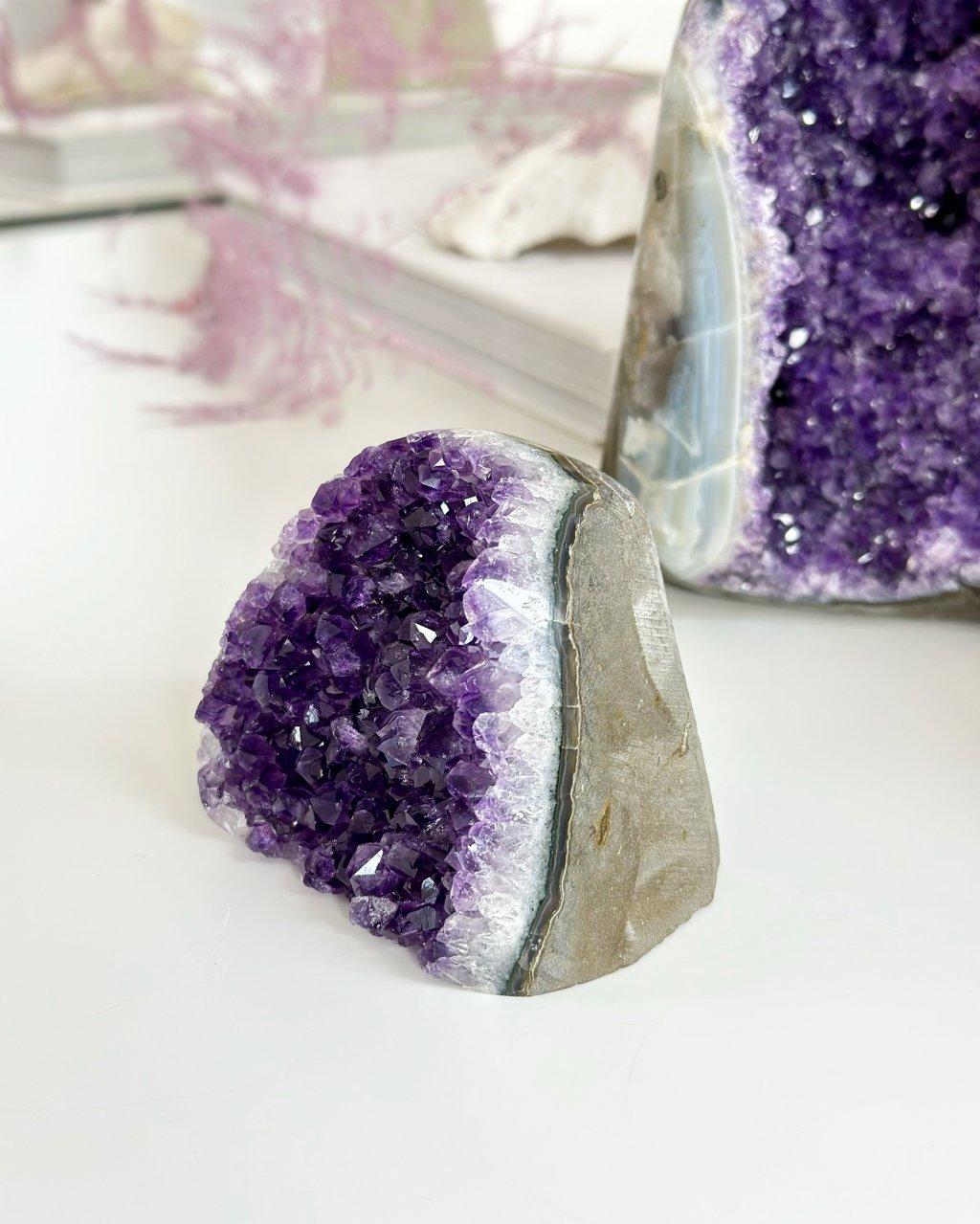 Luxusní ametystová geoda 5,6kg Brazílie AAA kvalita