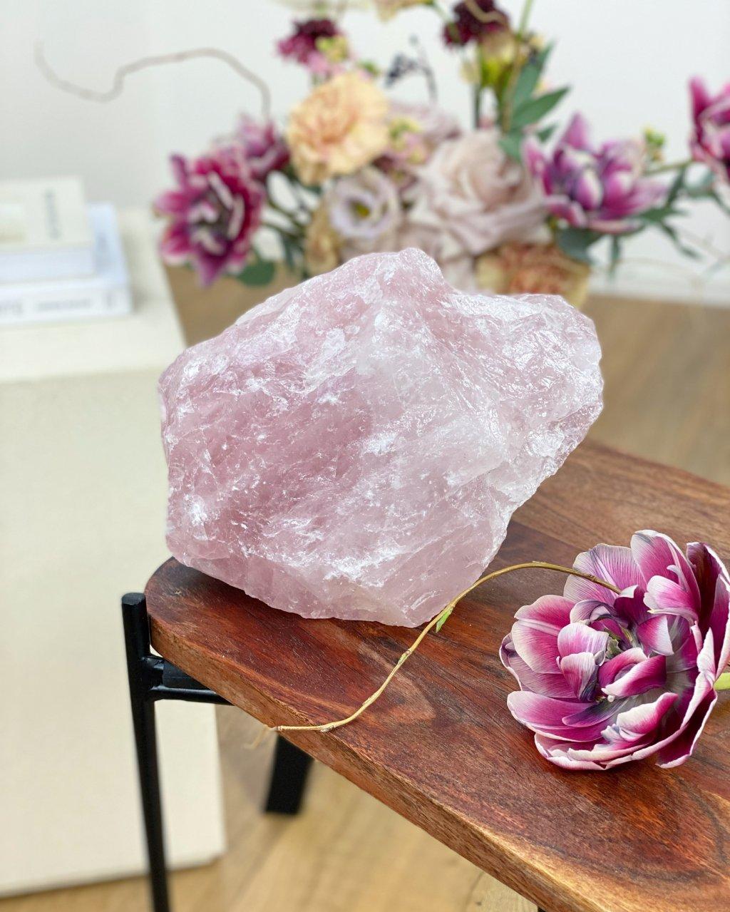 Růženín surový kámen Brazílie 1,46kg