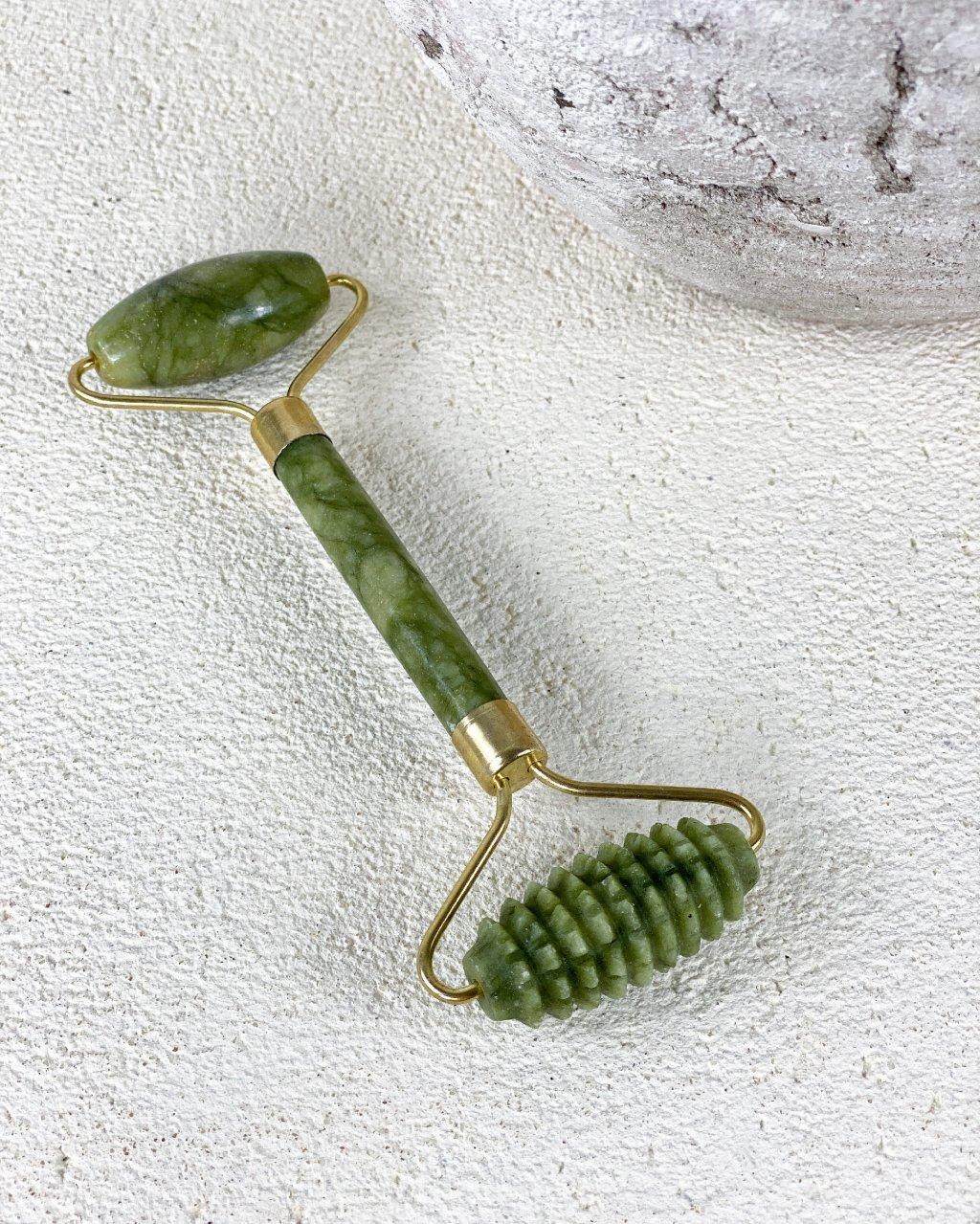 Face roller masážní váleček z jadeitu