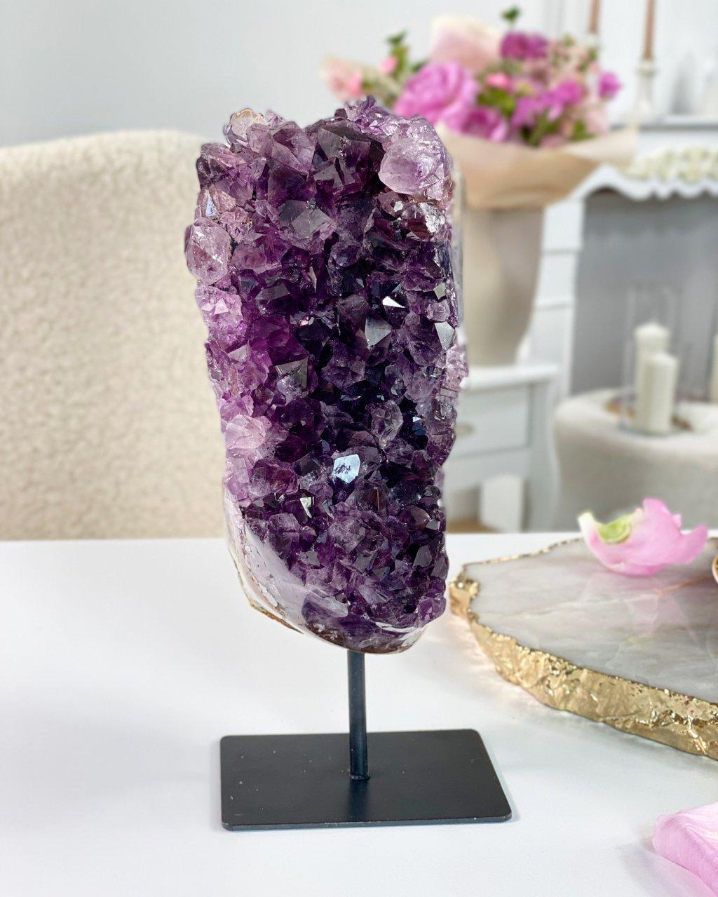 Drahé kameny ametystová drúzička č.6 Uruquay