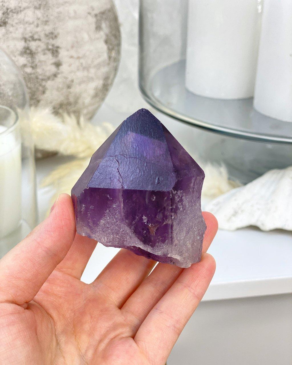 Ametyst krystaly broušené Bolívie