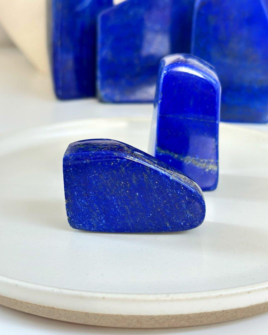 Lapis lazuli tromlovaný Afganistan 52g