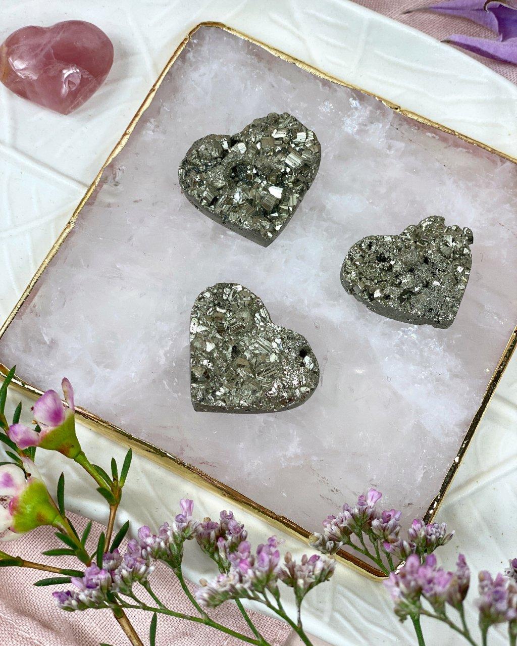 Drahé kameny pyrit srdce drúzky Peru