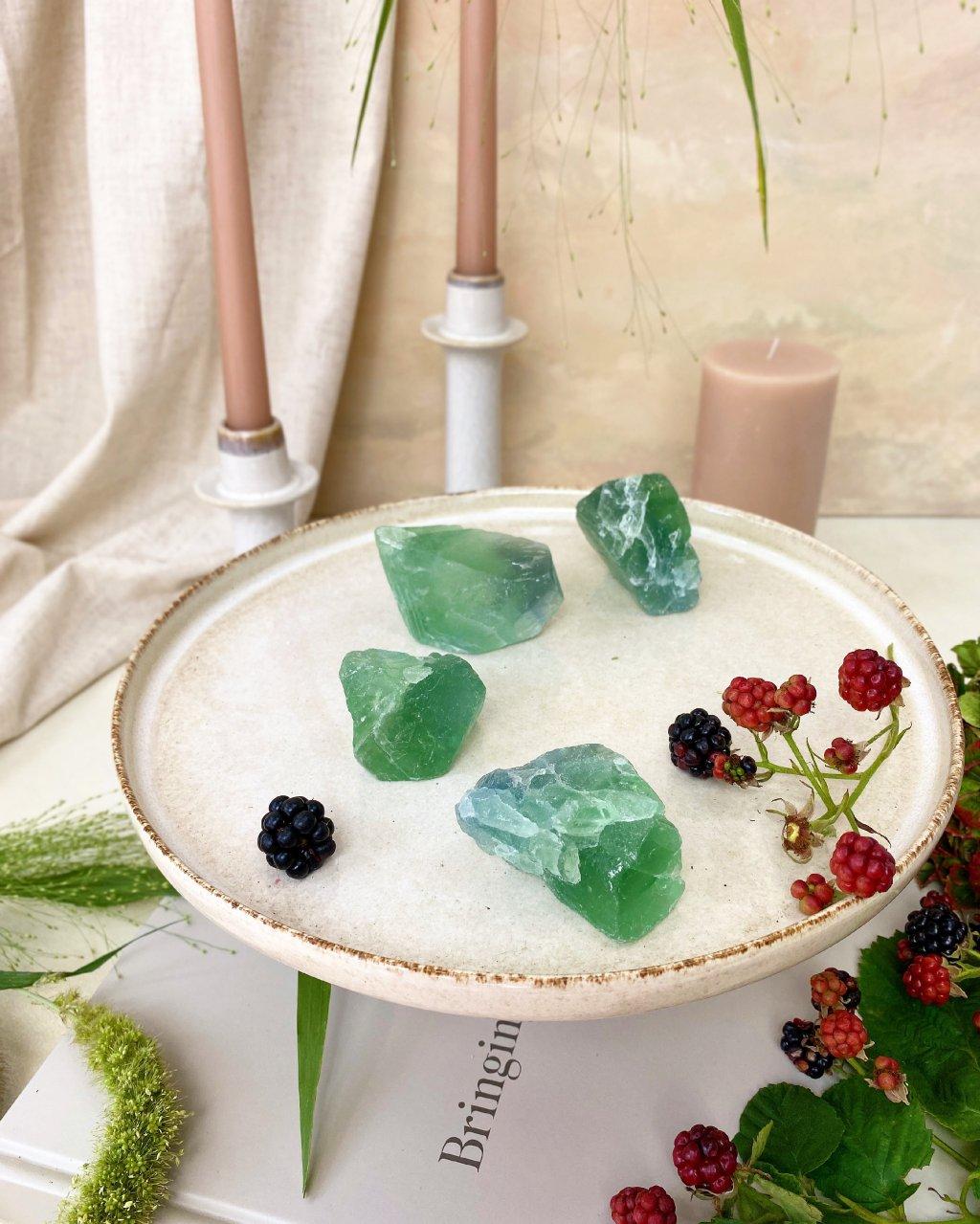 Fluorit zelený surový Čína 94g
