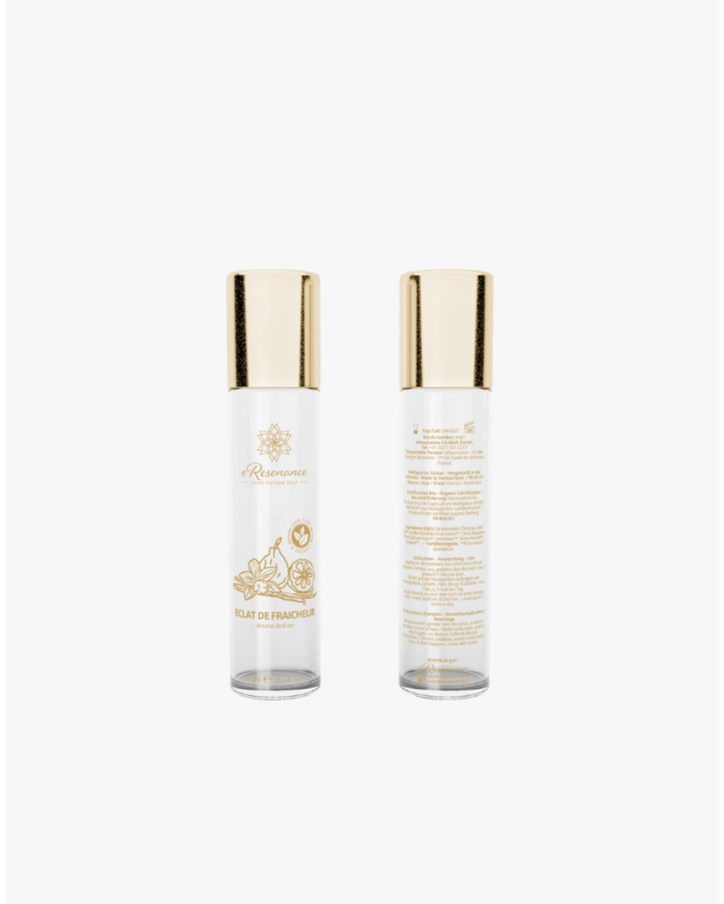 Aroma roll-on podpora vitality a energie