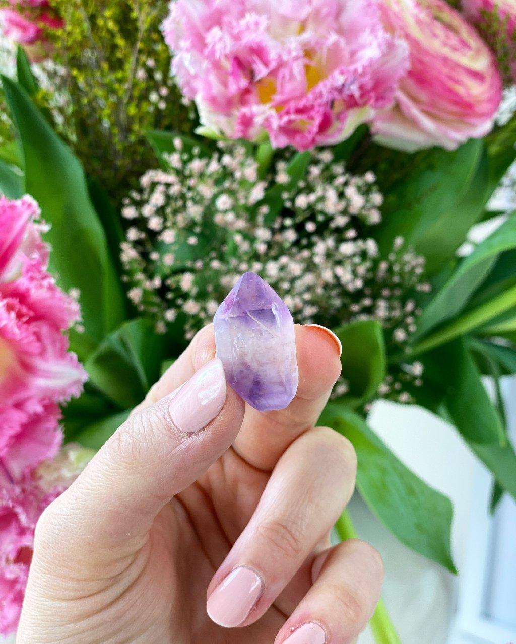 Ametystový krystal mini Kongo