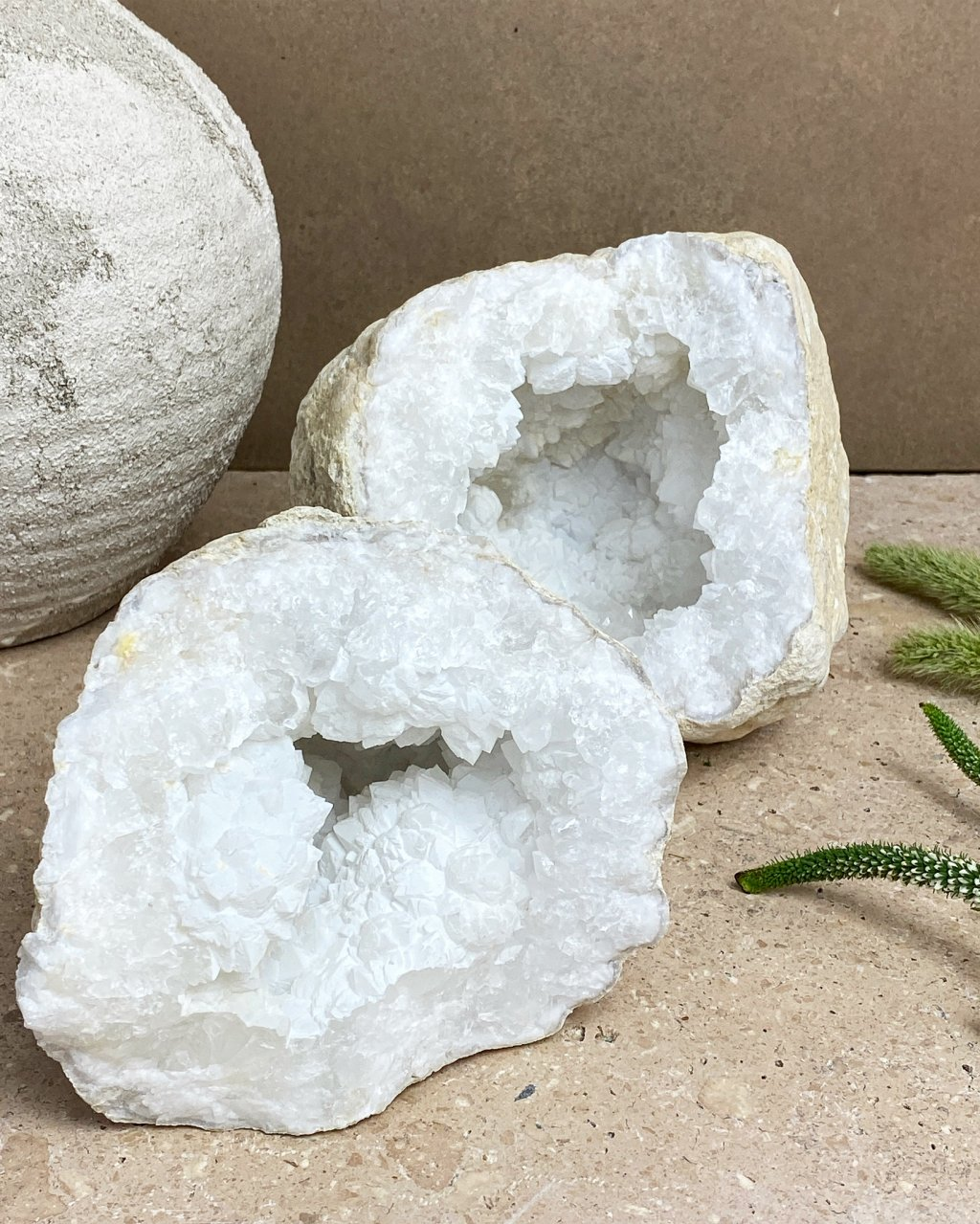 Křišťál geoda maxi Maroko 20cm 3,6g
