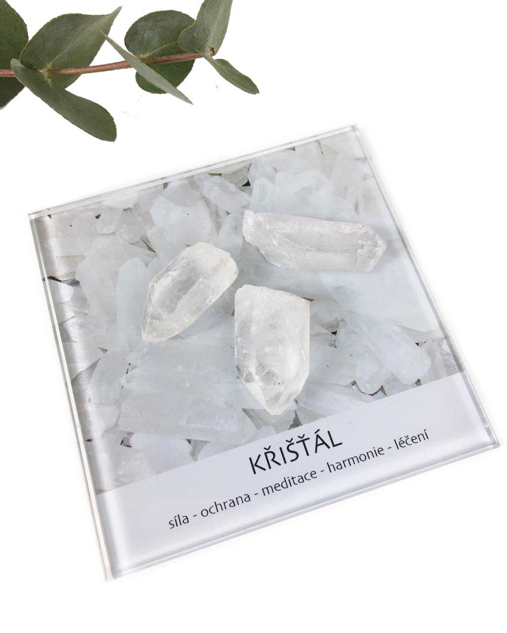 Krystal kámen Brazílie dekorační set