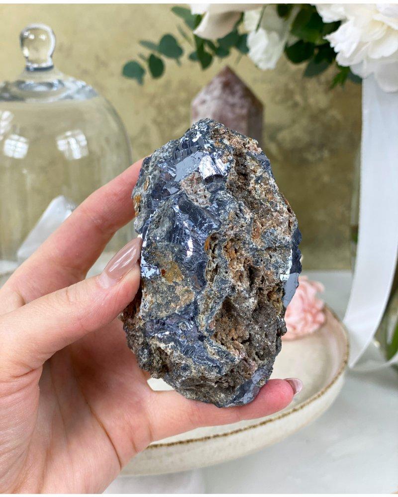 Drahé kameny galenit Zambie extra