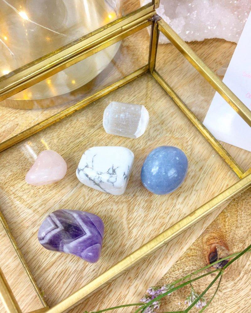 Výběr krystalů a minerálů pro skvělý spánek