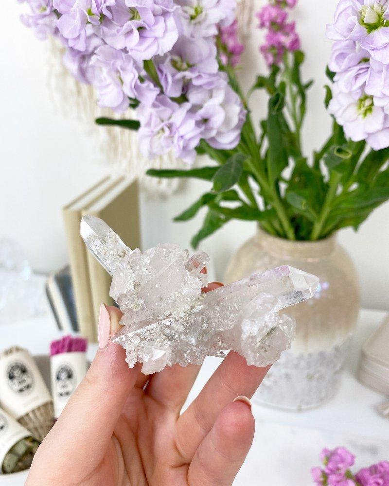 Křišťál drůza diamantina Tibet TOP kvalita 60g