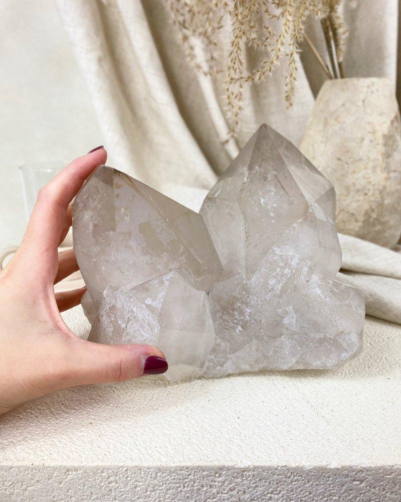 Luxusní velký krystal křišťálu Himaláje TOP kvalita!