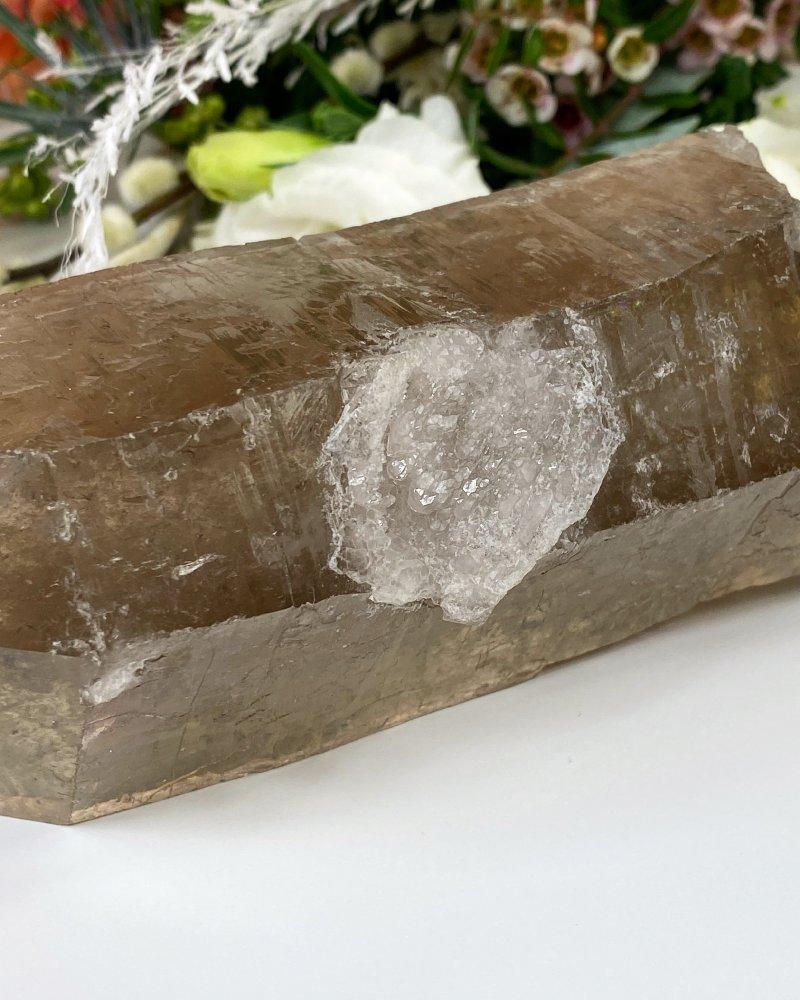 Polodrahokam záhněda krystal velký Brazílie