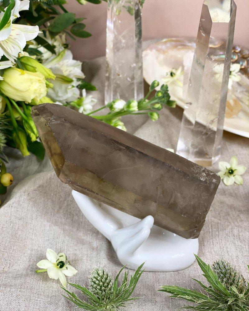Luxusní velký krystal záhnědy Brazílie